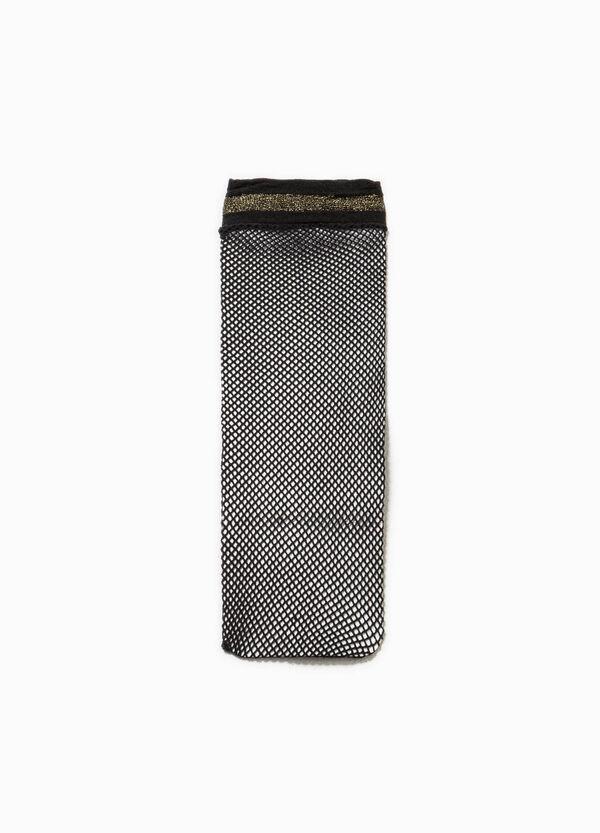 Fishnet pop socks with glitter | OVS