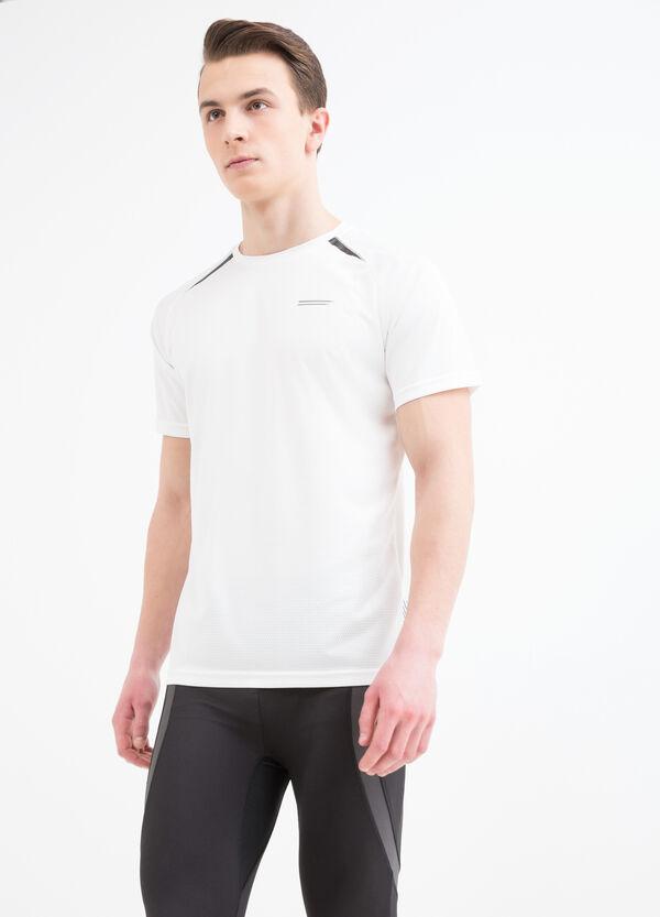 T-shirt sportiva con scollo rotondo   OVS