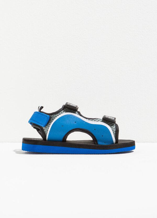 Sandali bicolore con strappi | OVS