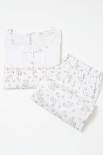 Curvy patterned cotton pyjamas