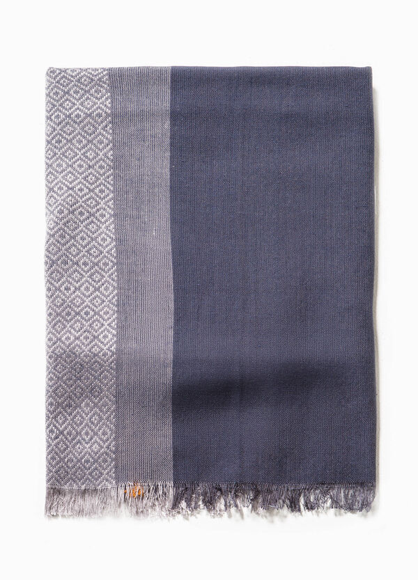 Scarf with geometric pattern | OVS