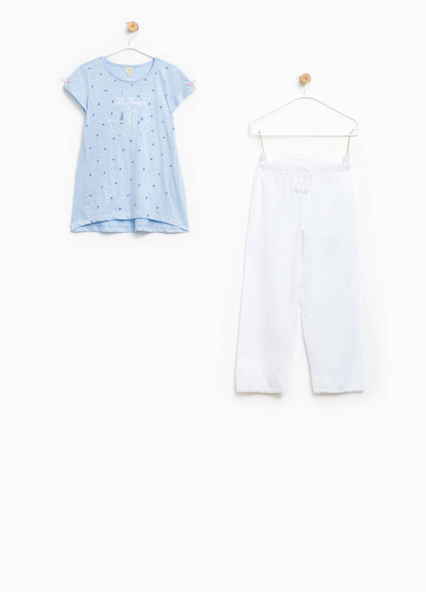Top and speckled trousers pyjama set | OVS