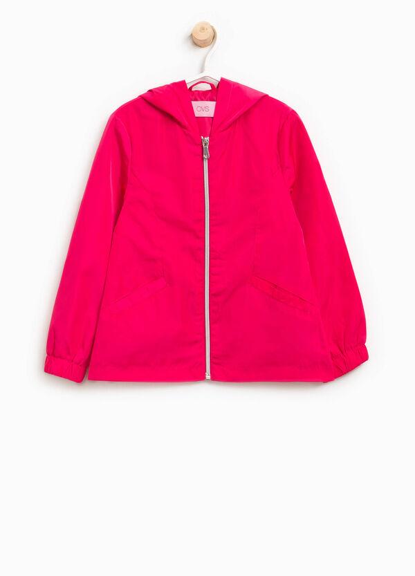 Jacket with zip and hood | OVS