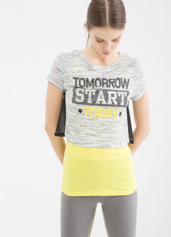 T-shirt sportiva con stampa | OVS