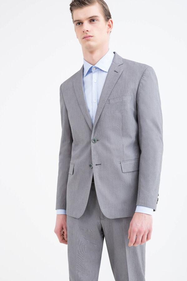 100% cotton, regular-fit jacket | OVS