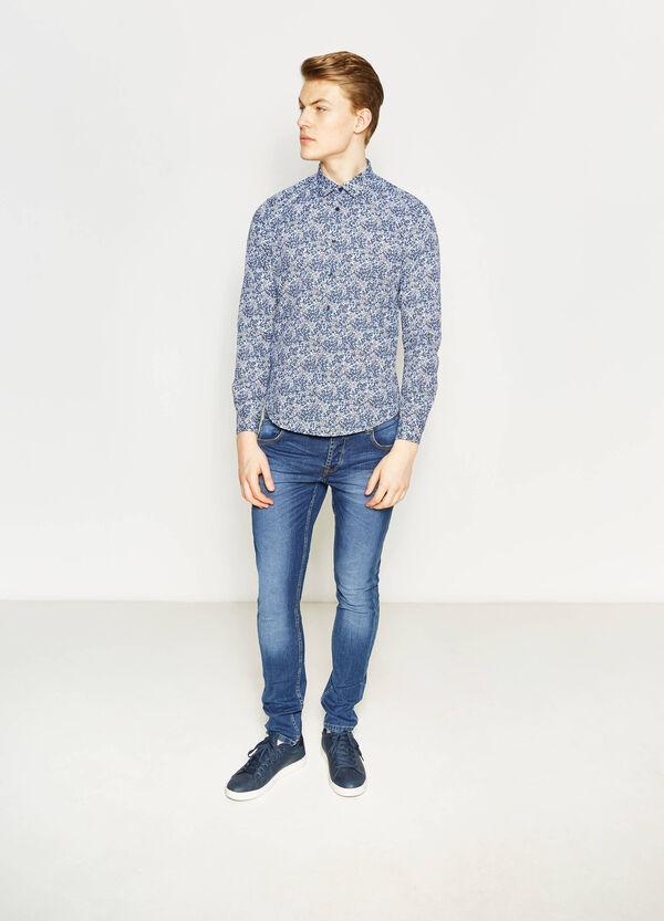 Camicia casual slim fit floreale | OVS