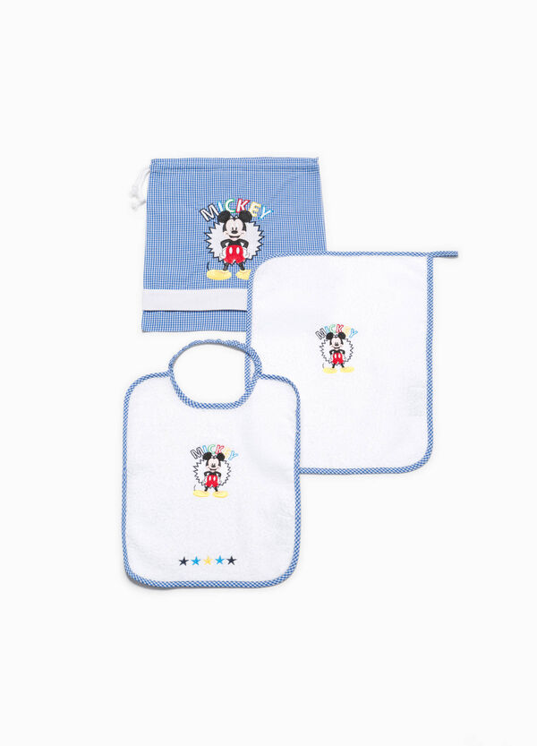 Set asilo in cotone patch Mickey Mouse | OVS