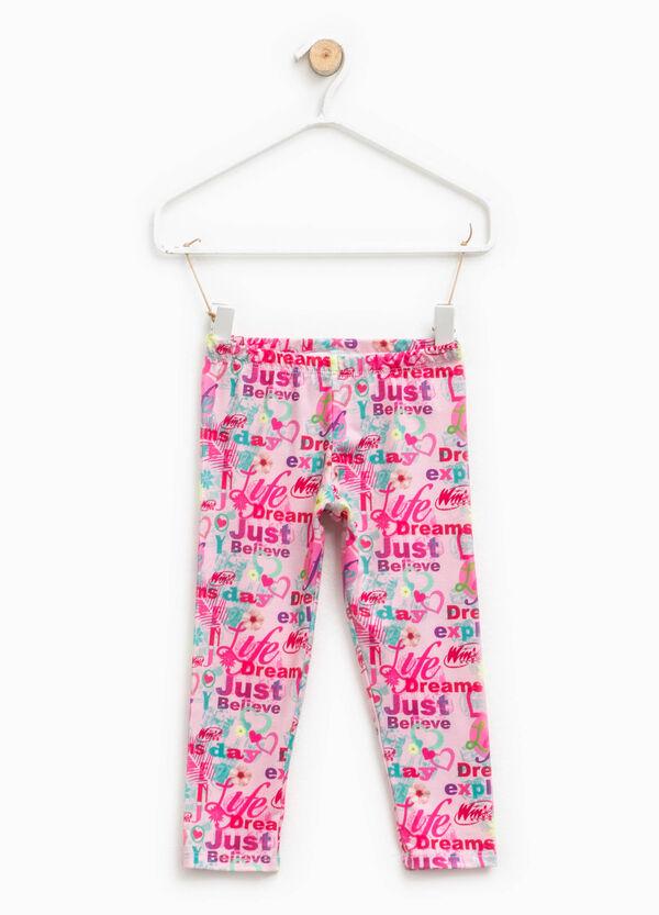 Winx patterned stretch leggings | OVS
