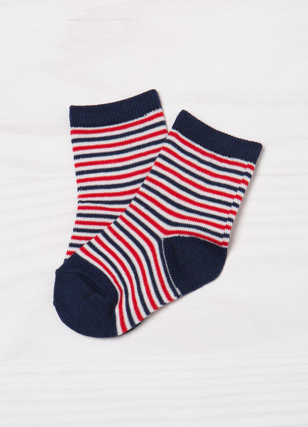 Two-pair pack patterned socks   OVS