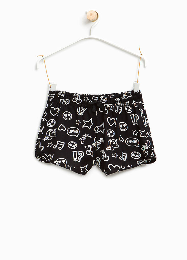 Patterned shorts with drawstring | OVS