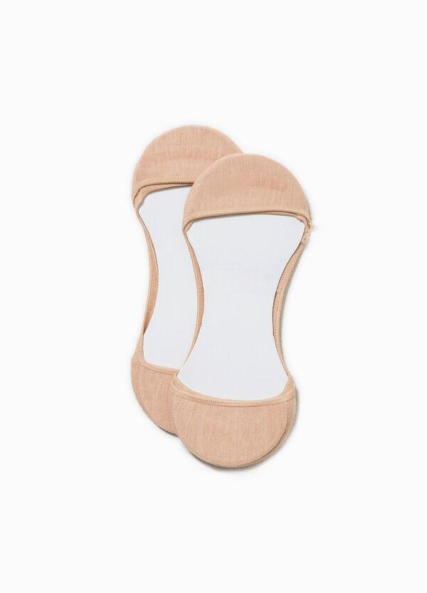Set due paia di calze salvapiedi | OVS