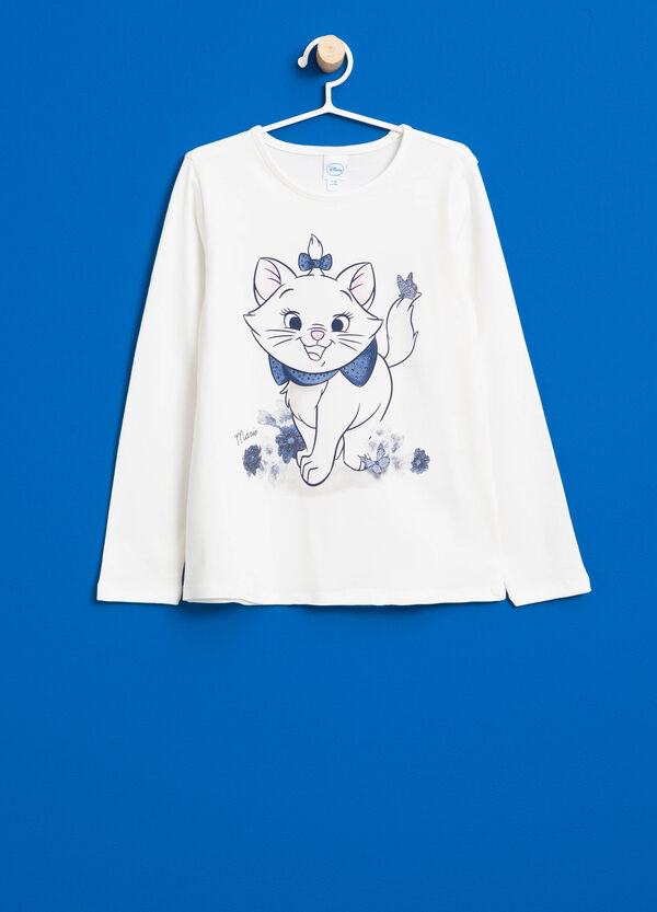 Cotton T-shirt with The Artistocats print | OVS