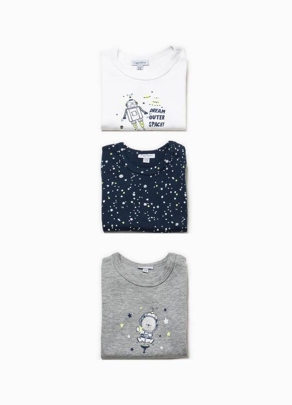 Set tre body stampa e fantasia Better Cotton | OVS
