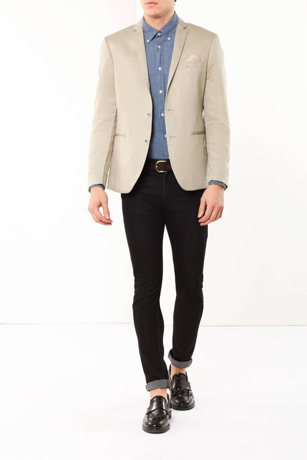 Slim fit jacket | OVS
