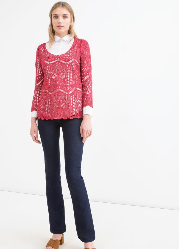 Knit openwork pullover | OVS