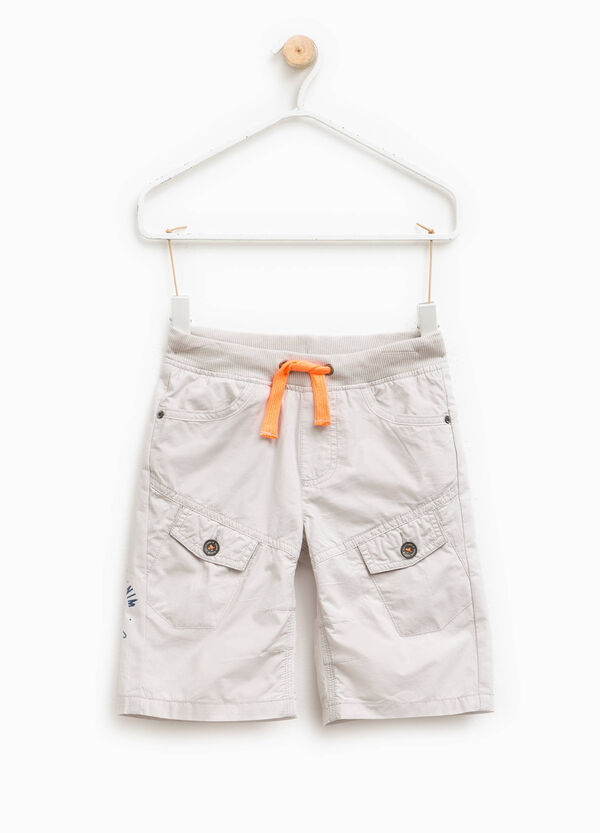 Cotton Bermuda shorts with pockets | OVS