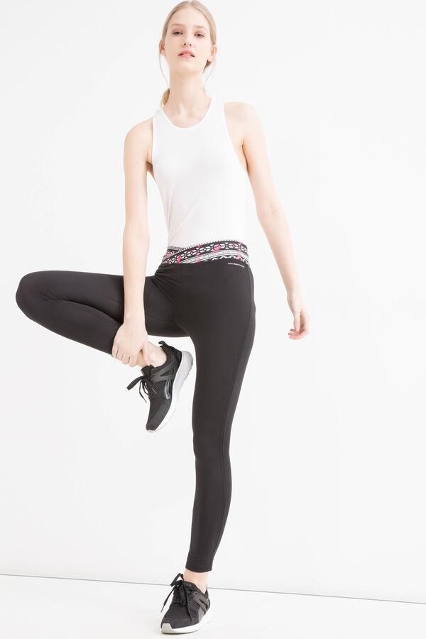 Leggings sportivi stretch fantasia | OVS