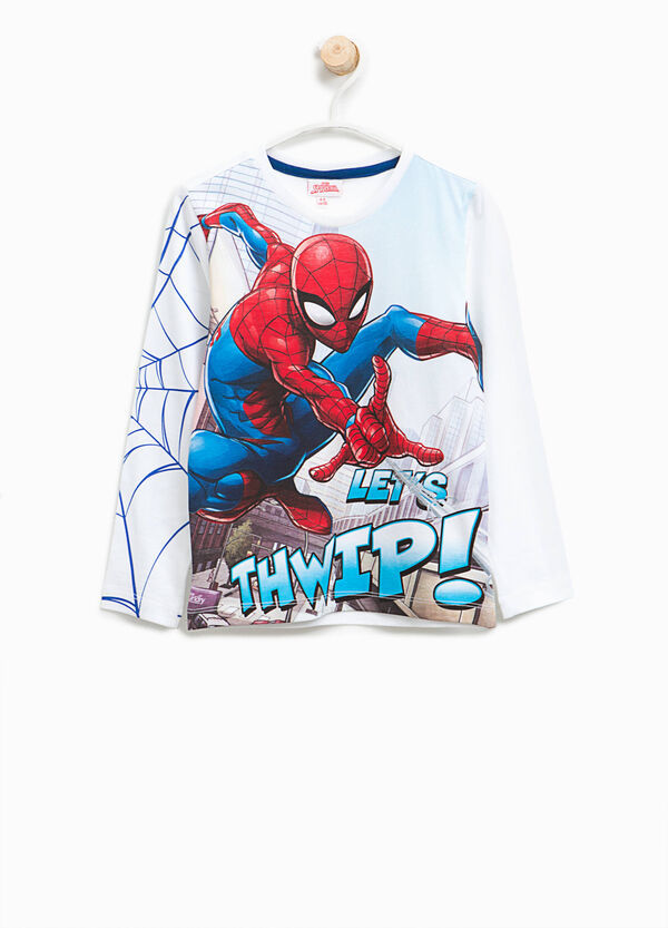 T-shirt in cotone maxi stampa Spiderman | OVS