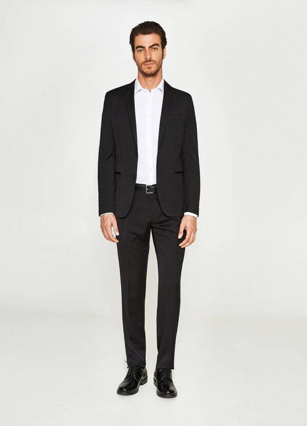Elegant custom-fit jacket in viscose | OVS