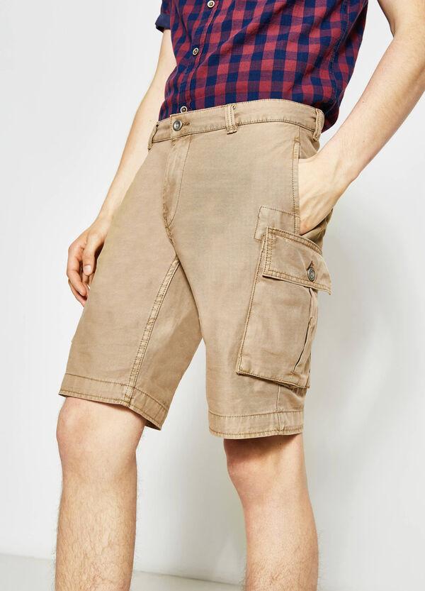 G&H regular-fit cargo Bermuda shorts | OVS