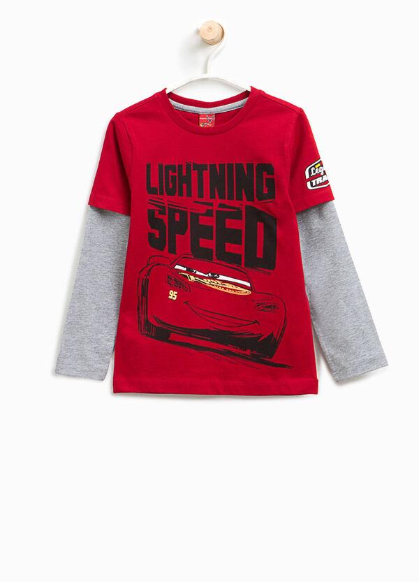 T-shirt finto doppio stampa Cars | OVS