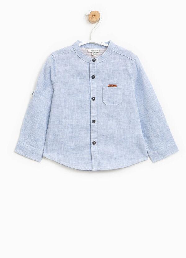 Camicia in lino e cotone | OVS