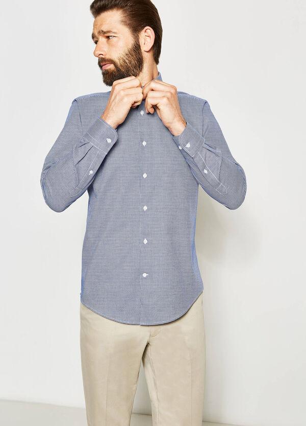 Slim-fit formal patterned shirt | OVS