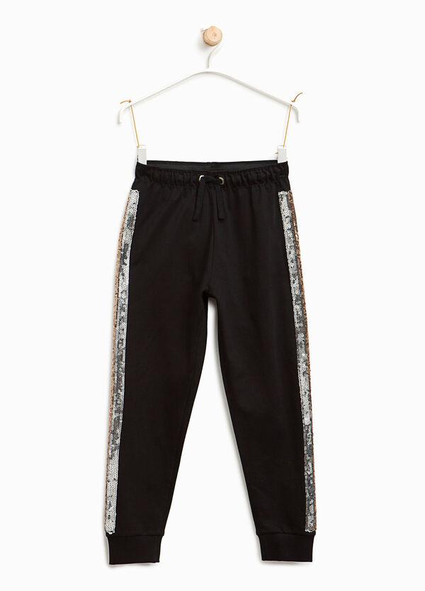 Pantaloni tuta bande paillettes | OVS