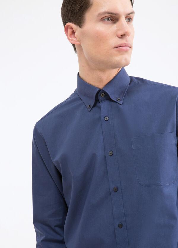 Camicia tinta unita regular fit | OVS