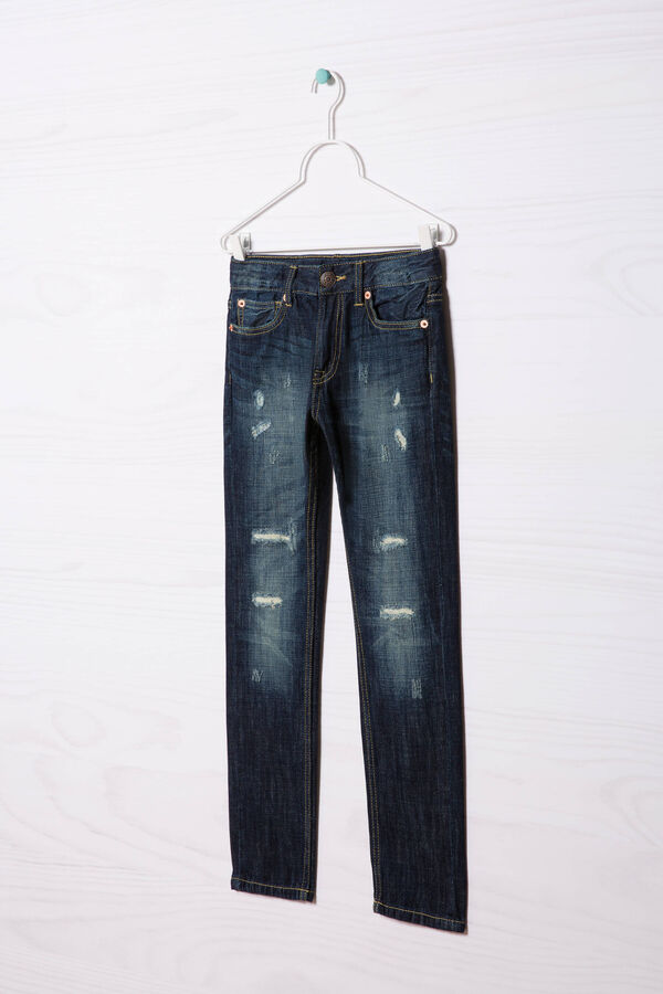 Jeans effetto used   OVS