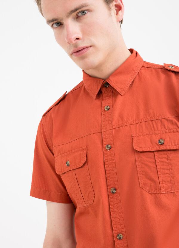 Camicia cotone tinta unita G&H   OVS