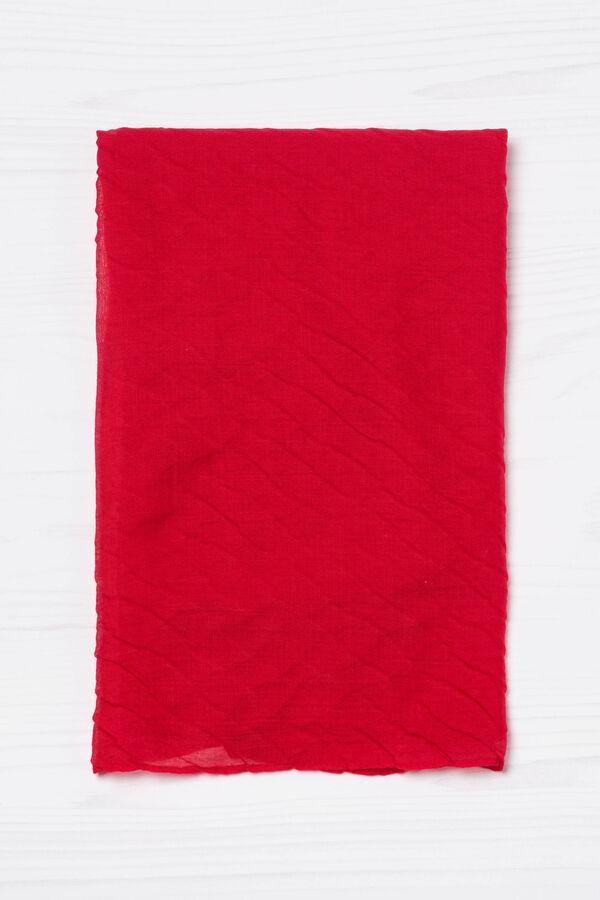 Sciarpa plissettata tinta unita | OVS
