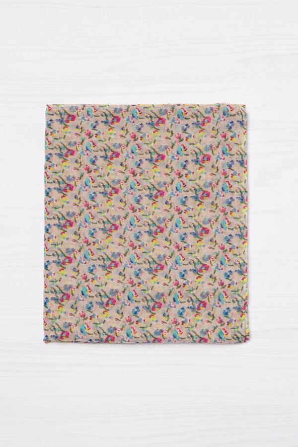 Floral print scarf | OVS