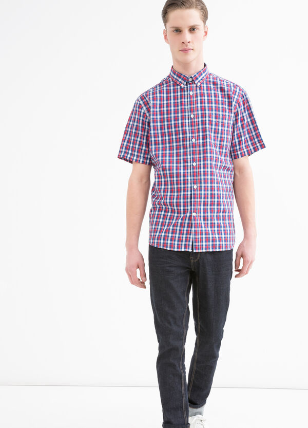 Camicia misto cotone button down   OVS