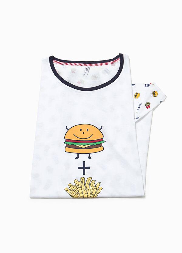 Fast food patterned nightshirt | OVS