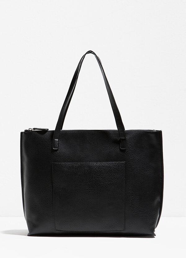 Hammered-effect shoulder bag | OVS