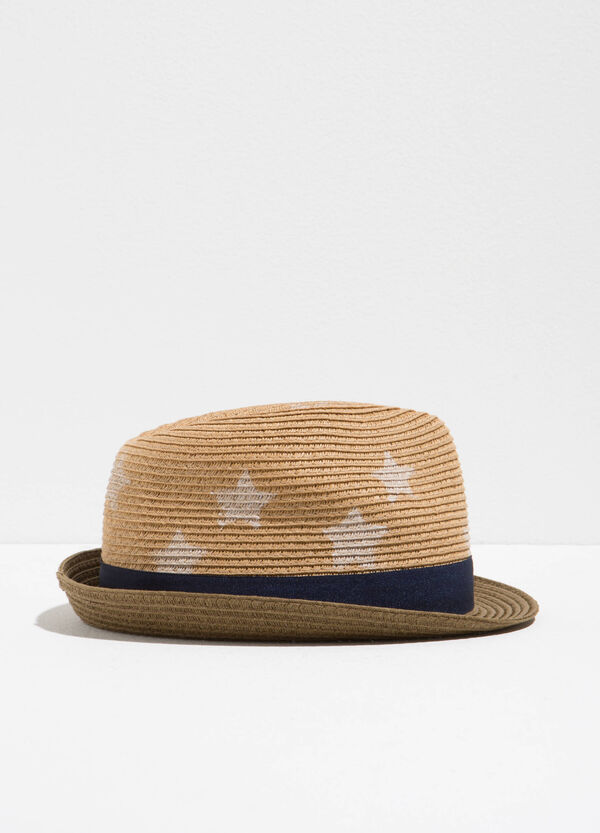 Cappello a falda larga a stelle   OVS