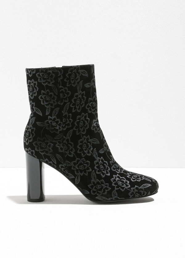Floral patterned ankle boots | OVS