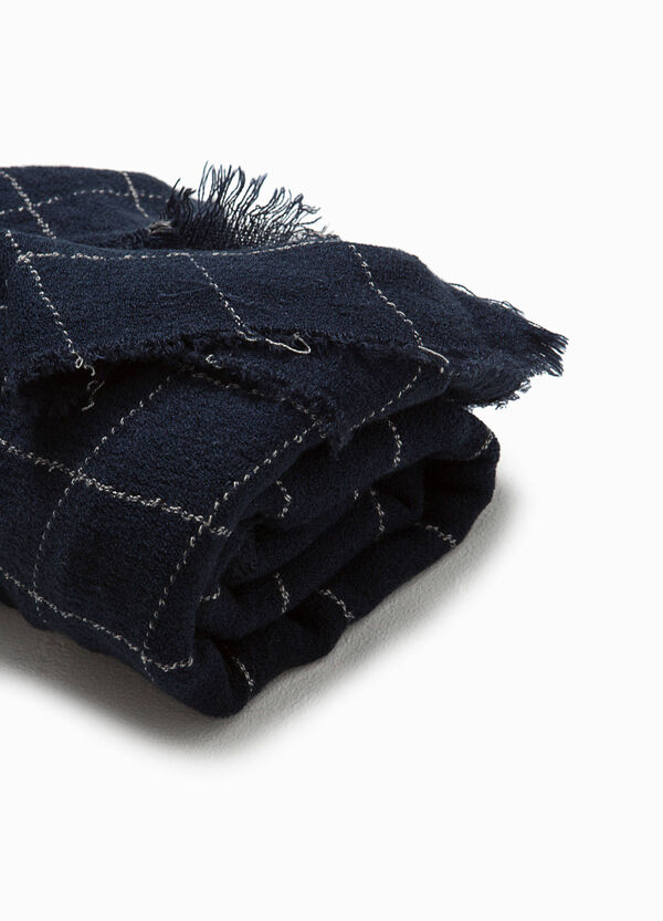 Viscose check scarf | OVS