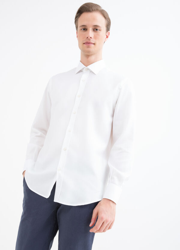 Cotton shirt with regular fit | OVS