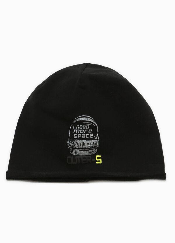 Beanie cap with glitter print | OVS