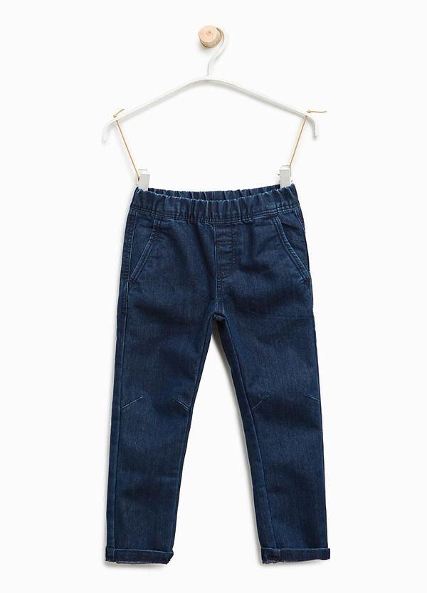 Jeans jogger fit con risvolto | OVS