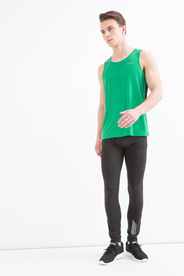 Gym vest with contrasting colour back | OVS