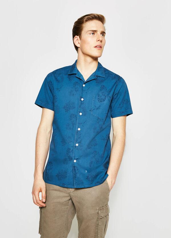 Camicia casual stampa all-over G&H | OVS