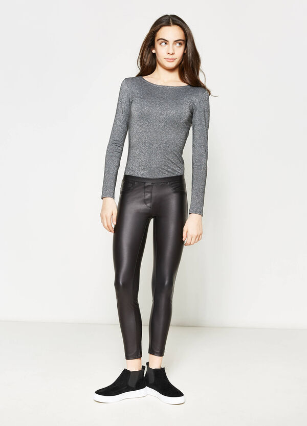 Teen solid colour leggings | OVS