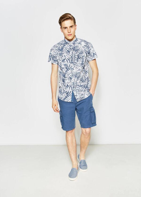 Camicia casual popeline floreale G&H | OVS