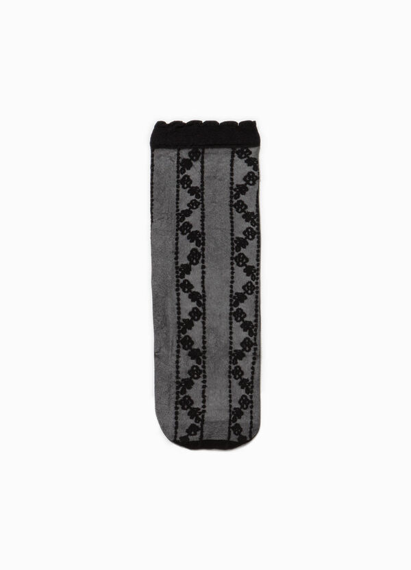 Short socks with embroidery | OVS